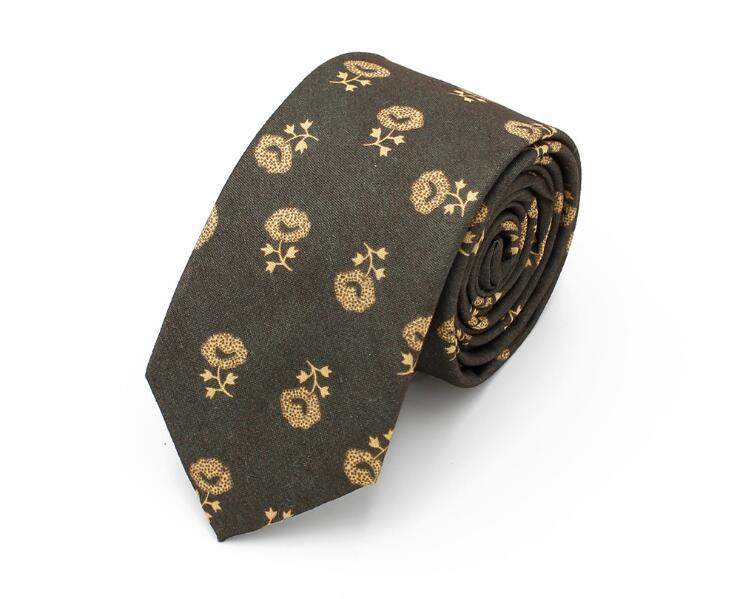 Wholesale Fashion Colorful Casual Floral Polyester Neckties Ties with custom logo
