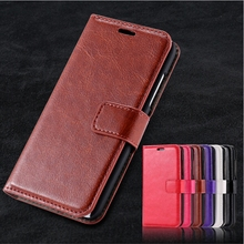 Crazy Horse Leather Flip Wallet Case Cover with Stand for Samsung Galaxy S7 S6 S5 S4 S3 mini