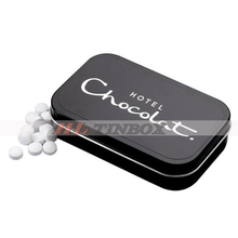 High Quality Rectangular Mint Candy Tin Box