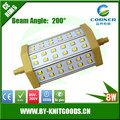 2015 epistar SMD2835 8w lowest price china supply 118mm led r7s light