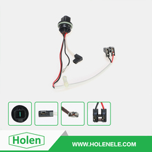 Top quality socket relay automobile car electric fog light lamp wire harness with off -on road switch