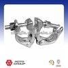 Hot Dip Galvanized,(Silver colour and Gold colour)scaffolding double coupler used in construcion