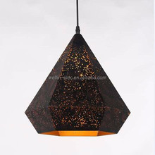 Moroccan Decorative Hanging Pendant Lamp With Iron Etch Finished For Indoor Lighting