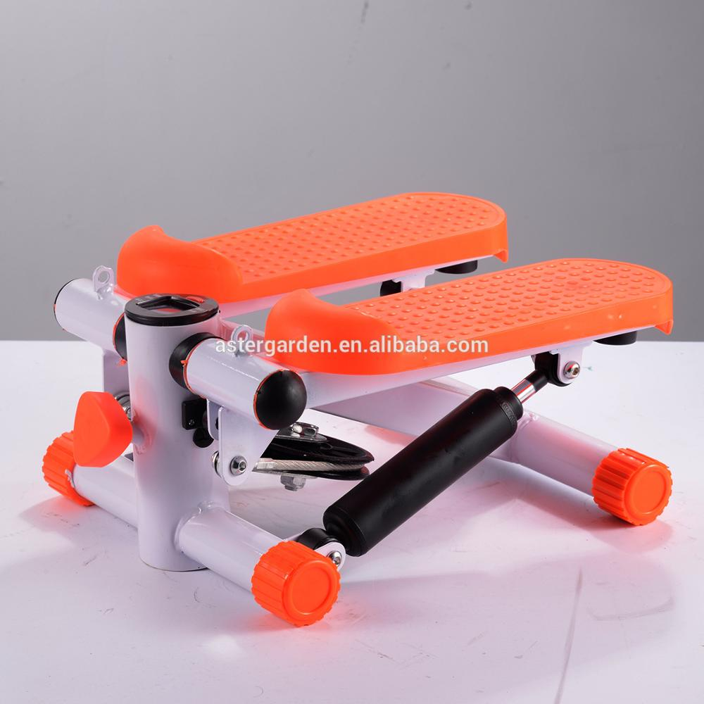 Home multi-function hydraulic pedal stovepipe slimming fitness equipment quiet stepper