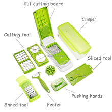 kitchen tools chopping vegetable plastic salad chopper