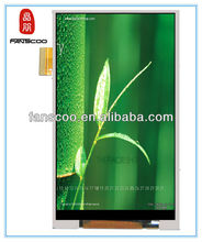 factory price 3.5 floor standing advertising player blackberry 9700 lcd screen for nokia 5800