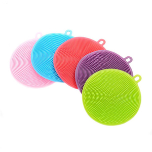 Peddy Wholesale Multifunction Silicone Bowl Dish Washing Cleaning Brush For Kitchen