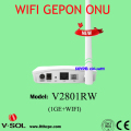 Wireless 300Mbps, 2T2R WIFI network Terminal optical GEPON ONU Networking compatible with M5680T