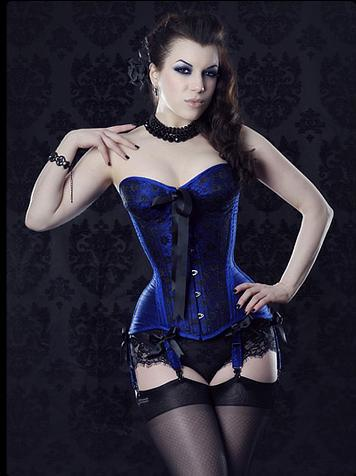 Noble Ms Bone Garment Corsage Sexy Corselet With Garters