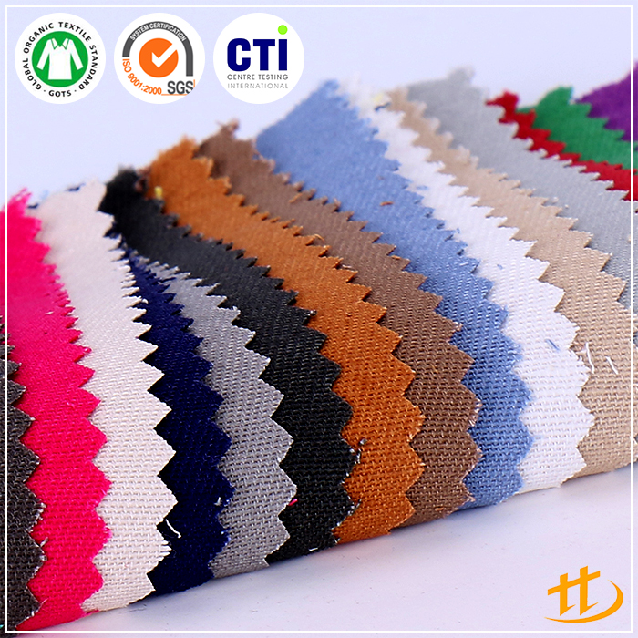 High Quality Textile Woven Wholesale Cotton Twill Fabric With 290gsm