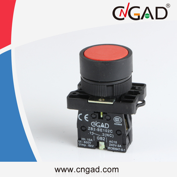 XB2-EA42 CNGAD red plastics momentary flush push button switch
