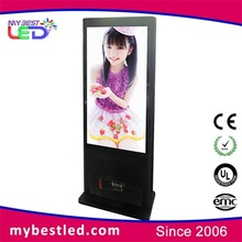 Control remoto indoor floor standing lg screen 55 inch interactive multi touch table/floor standing digital signage