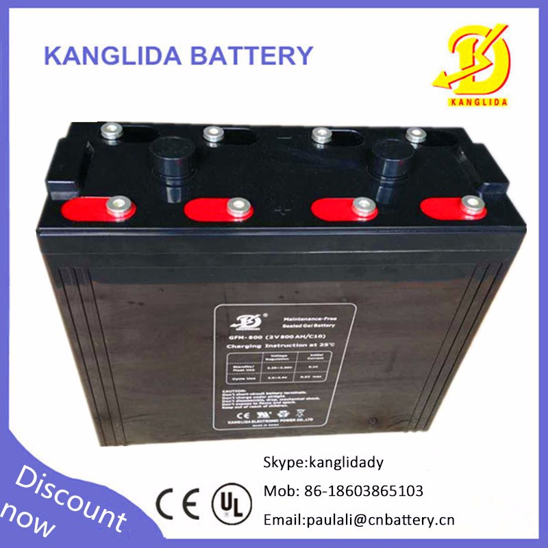 2v 800ah deep cycle solar battery 2volt 800 amp solar batteries