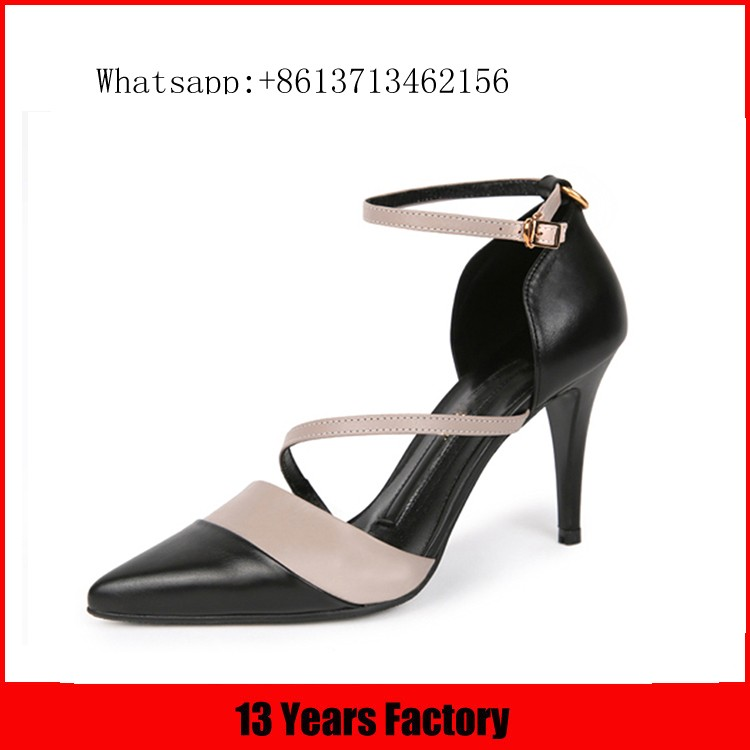 Real leather women shoes,sexy women dress shoe,sexy high heel shoes
