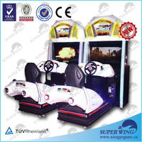 "2014 hot sell 47""LCD full-motion high quality luxury appearance simulator arcade racing car game machine"