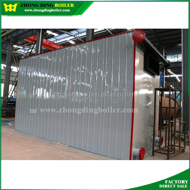 Sufficient Output Biomass Fired Horizontal Thermal Fluid Heater