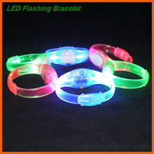 Cheap Adjustable Personalized LED S\allume Bracelet