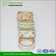 2016 Popular Design Dot Christmas Washi Paper Tape For Decorating