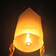 Wholesale Cheap Biodegradable Wishing Flying Chinese Sky Paper Lantern