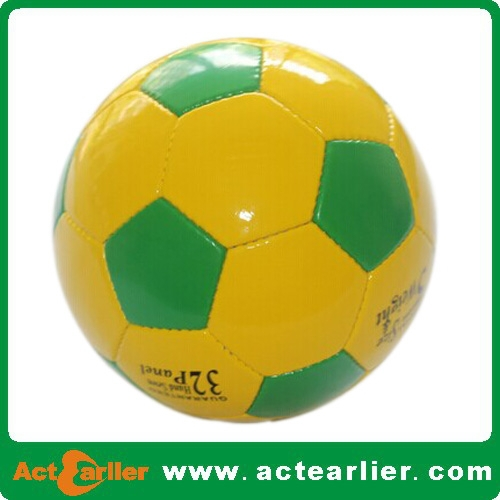 Machine Sewing Football / Soccer Ball For Promotional