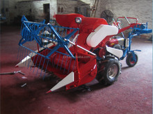 mini rice and wheat combine harvester for small paddy with 1meter cut bar