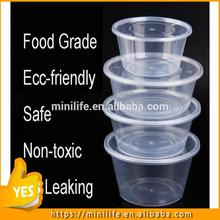 2017 New Kind food containers, 100ml-3000ml plastic attached-lid storage containers