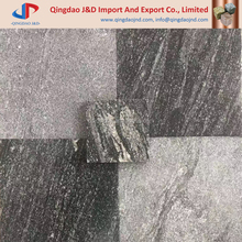 Black sand wave granite tiles, black wave granite paving tiles