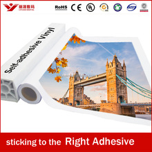 self adhesive mirror coated tracing Vinyl Sticker paper roll