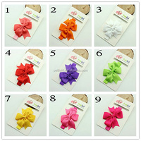 Lastest Fashion Baby Hair Accessories With Webbing Bow Girl Hairpin Cute Kids Hair Dressing HA40827-33