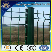 Powder coated galvanized 3D mesh panel fence / PVC coated welded wire mesh fence panels