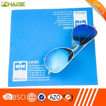 Hot sale logo printed optical lens glasses cloth