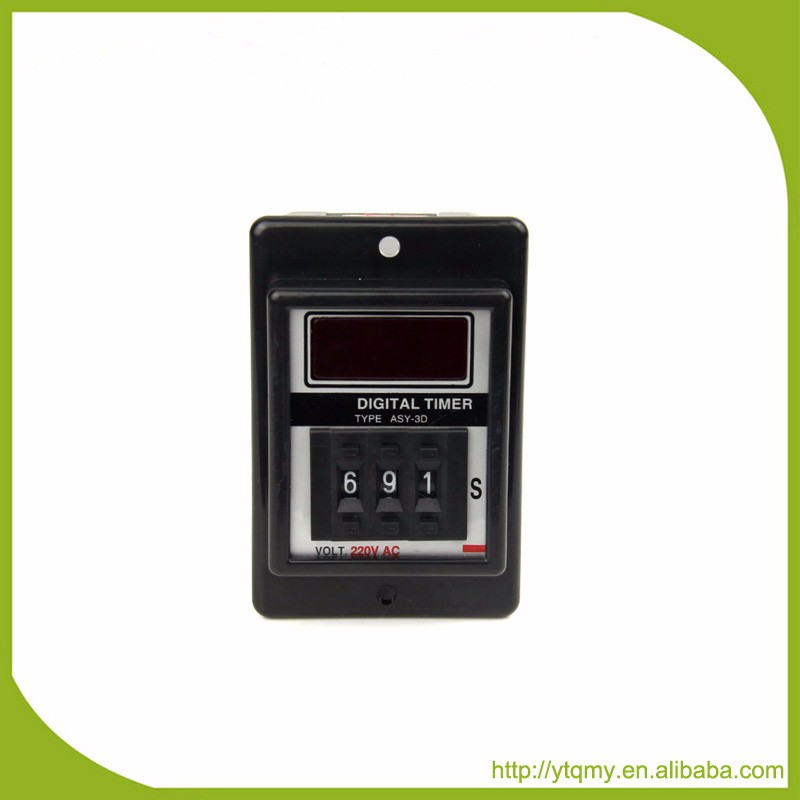 Best Price High Accuracy Time Delay Digital Timer Relay ASY-3D