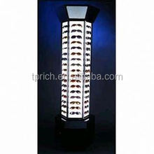 2015 new design Clear Wall Mounted 6 Pieces Acrylic Slat Wall Fashionable Eyeglasses Display Shelf 6131404203
