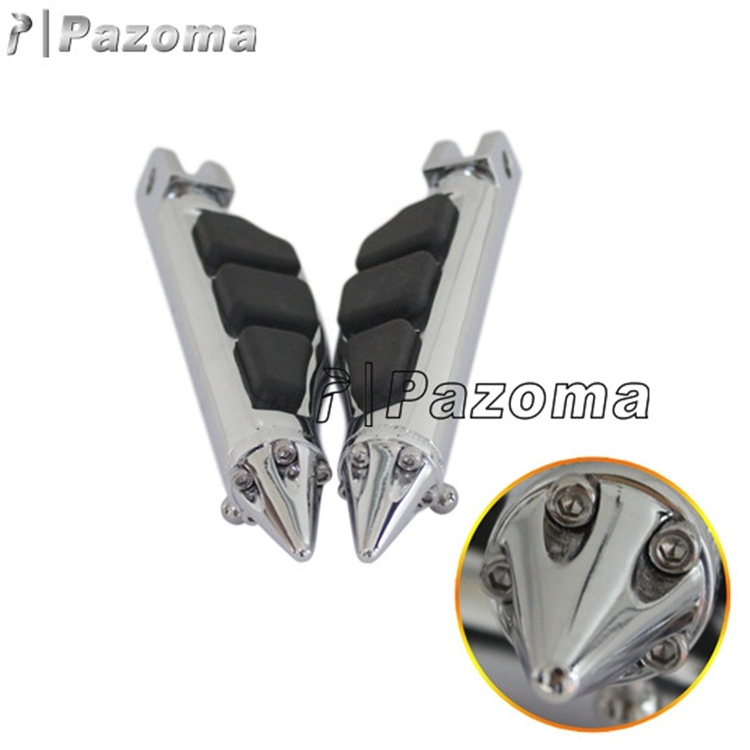 Motorcycle Stiletto Style Front Foot Pegs Footrests For M109R Boulevard Gold Wing Spyder RS