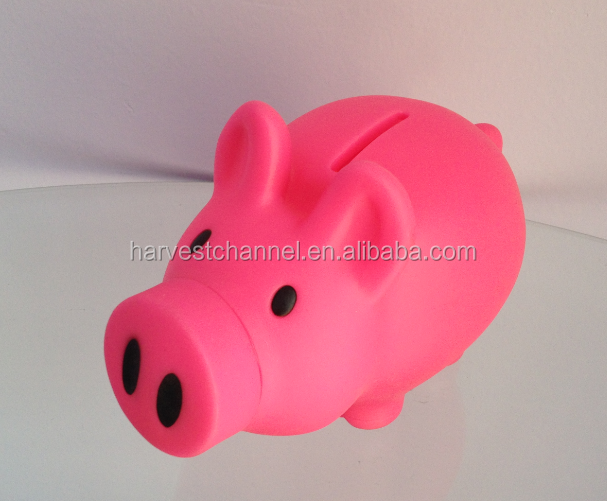 high-qulality novelty piggy bank/money bank for gifts