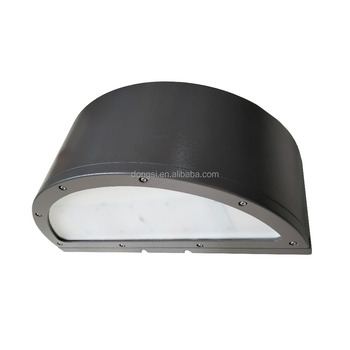 Outdoor led wall pack luminaires for parking lot
