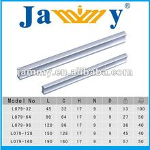aluminium alloy fancy office furniture hardware