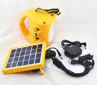 1W led Rechargeble solar lantern with mobile phone charger led light portable outdoor solar camping light
