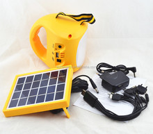 1W led Rechargeble solar lantern with mobile phone charger portable outdoor solar camping light