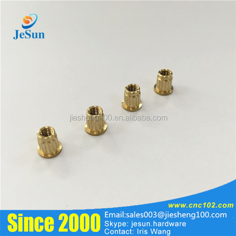 Alibaba Online Shopping Plastic Brass Insert Knurled Nut M2.5