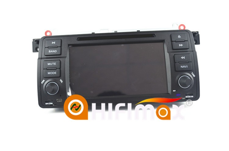 HIFIMAX Android 7.1 car dvd player for BMW 3 Series E46 2002 to 2006 car radio for e46 bmw dvd for bmw 318i e46 navi