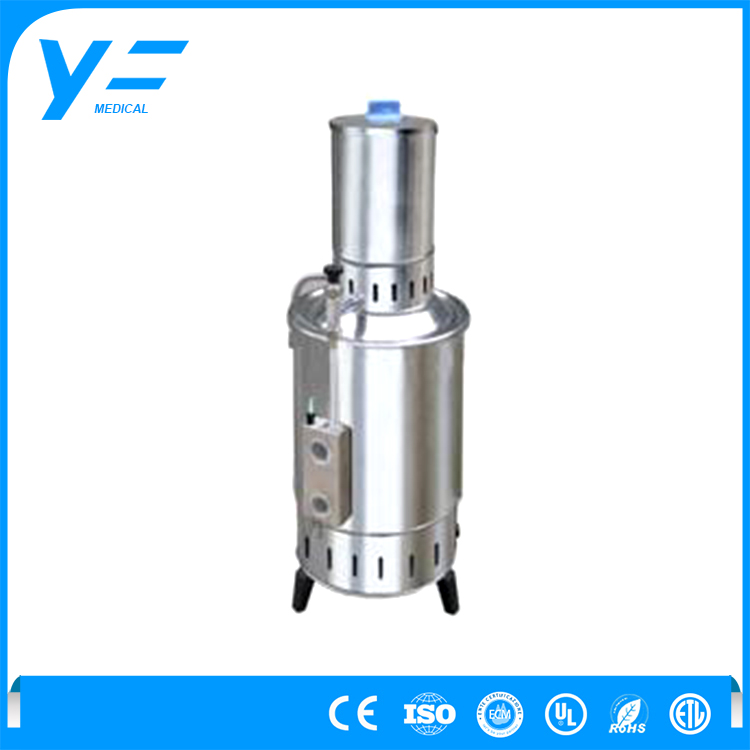China Supplier Quality 20L/h Stainless Steel Electric Household Portable Laboratory Water Distiller