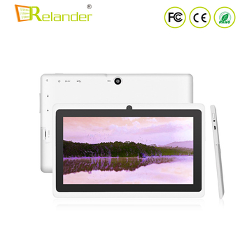 Factory low price 7inch android computer 8G ROM Quad core wifi tablet Q88 in stock