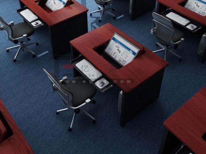 Mdf wooden furniture flip top school computer desk buy for Flip top computer desk