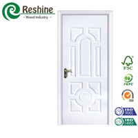 Watertight interior melamine wooden door price
