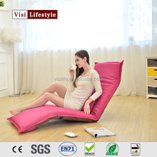 2016 3 adjustable lounge folding chair sofa bed/recliner chair/foldable floor chair