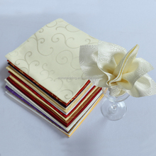 Wholesale natural cotton dinner linen napkin