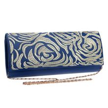 Indian Best Sale Cheap elegant custom print leather clutch bags for women