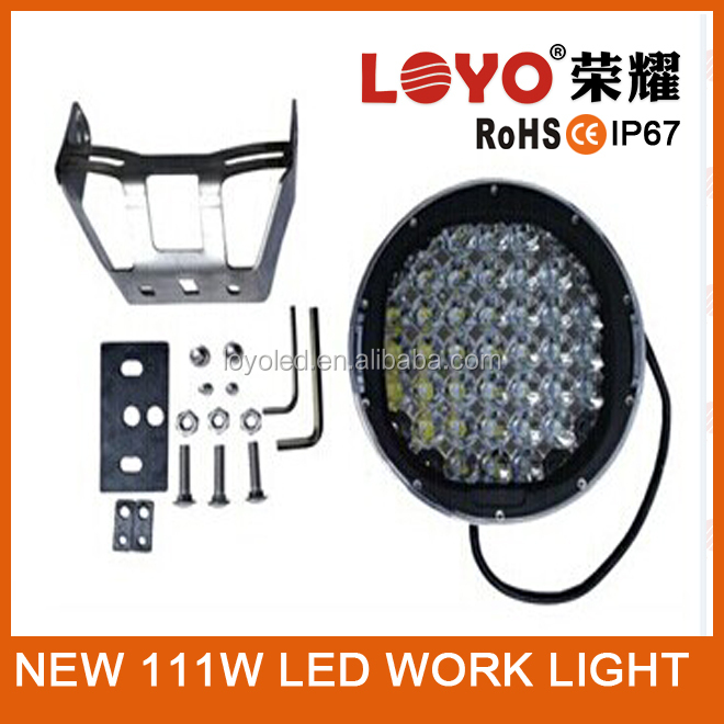 "NEW product 4x4 off road 9"" 111W led driving light, 111w led work light NEW Arrival Style 9 inch 111W led driving lights"