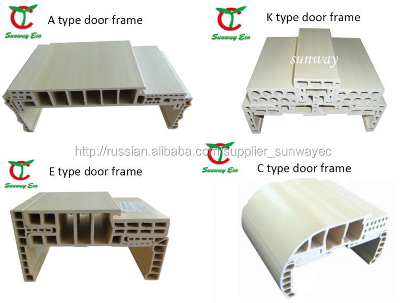 Pvc Door Frame Detail : Waterproof plastic door frame covering wpc jamb buy